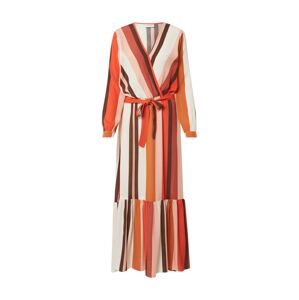 Freequent Šaty 'FQMELANY-DR'  mix barev / oranžově červená
