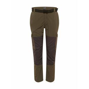 CRAGHOPPERS Outdoorové kalhoty 'Pro Adv'  olivová / šedá