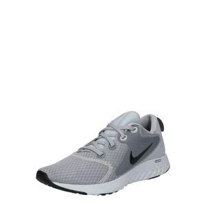 NIKE Běžecká obuv 'Rebel React'  světle šedá / platinová