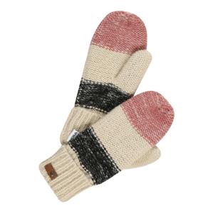 ROXY Sportovní rukavice 'Shelby'  růžová / béžová / černá