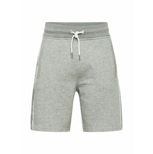 GANT Kalhoty  šedý melír