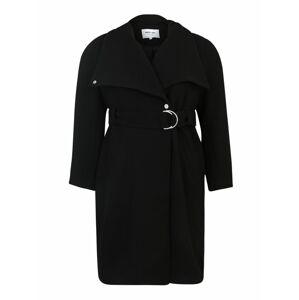 ABOUT YOU Curvy Přechodný kabát 'Alma'  černá