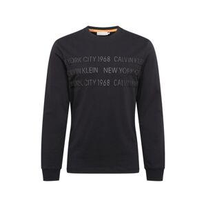 Calvin Klein Mikina  černá