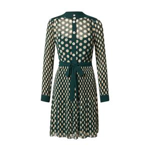 L.K.Bennett Košilové šaty 'Cora'  béžová / trávově zelená