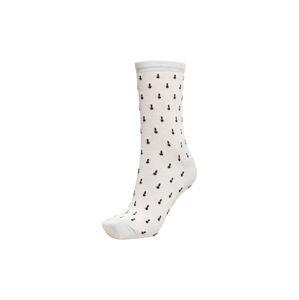 SELECTED FEMME Ponožky  bílá / černá