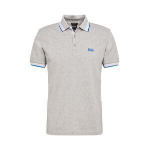 BOSS Casual Tričko  šedá / modrá