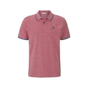 TOM TAILOR Tričko  modrá / pastelově červená