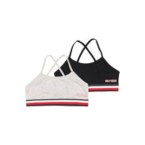 Tommy Hilfiger Underwear Podprsenka  světle šedá / černá / tmavě modrá / bílá / červená