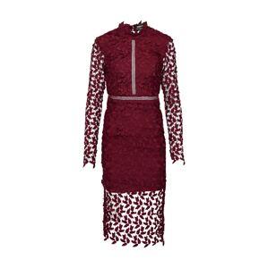 Bardot Koktejlové šaty 'Alberta'  burgundská červeň