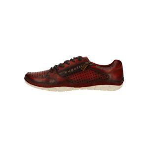 bugatti Sportovní šněrovací boty  červená / hnědá