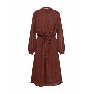 ICHI Košilové šaty 'VIKTORIA'  červená