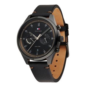 TOMMY HILFIGER Analogové hodinky 'Not assigned'  černá / antracitová