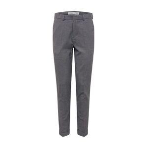 BURTON MENSWEAR LONDON Kalhoty se sklady v pase  šedá