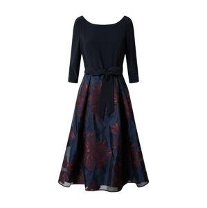 Vera Mont Společenské šaty  modrá / červená
