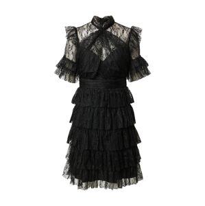 By Malina Koktejlové šaty 'Liona'  černá