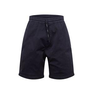 Carhartt WIP Kalhoty 'Lawton'  námořnická modř