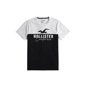 HOLLISTER Tričko  šedá