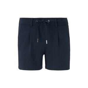 TOM TAILOR DENIM Kalhoty se sklady v pase  modrá