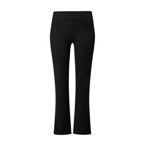 PIECES Kalhoty  černá