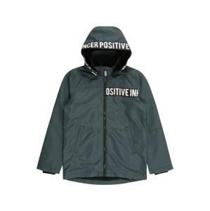 NAME IT Funkční bunda  smaragdová / bílá / černá