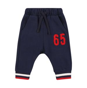 UNITED COLORS OF BENETTON Kalhoty  námořnická modř / červená / bílá