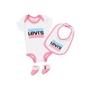 LEVI'S Sada  černá / pink / bílá / světlemodrá