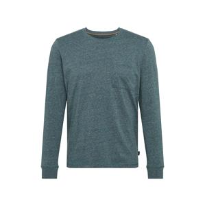 ESPRIT Tričko 'Marl'  modrý melír / šedý melír