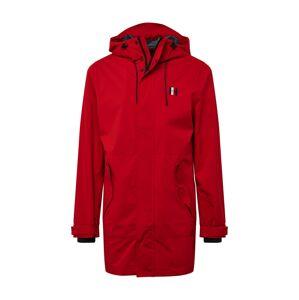 TOMMY HILFIGER Přechodný kabát  červená / bílá / námořnická modř