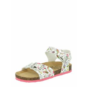 PRIMIGI Sandály  mix barev / bílá