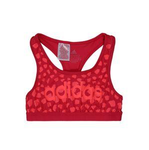 ADIDAS PERFORMANCE Sportovní top  karmínově červené / světle červená