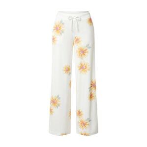 HOLLISTER Pyžamové kalhoty  bílá / oranžová / světle zelená