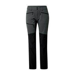 Haglöfs Outdoorové kalhoty 'Rugged Flex'  šedá / černá