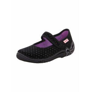 SUPERFIT Pantofle 'Belinda'  černá