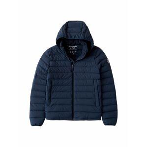 Abercrombie & Fitch Přechodná bunda  námořnická modř