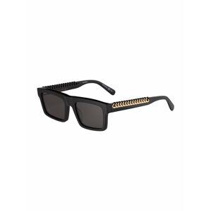 Stella McCartney Sluneční brýle 'SC0208S-001 53'  černá / zlatá