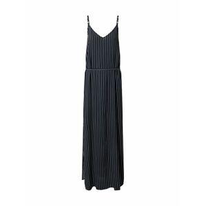JACQUELINE de YONG Šaty  noční modrá / offwhite