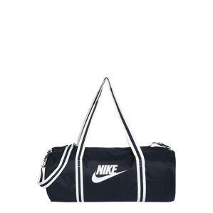 Nike Sportswear Cestovní taška 'Heritage'  bílá / námořnická modř
