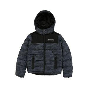 BLUE SEVEN Přechodná bunda  černá / chladná modrá