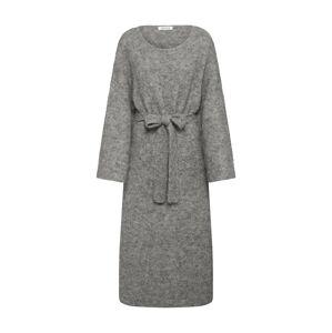 EDITED Úpletové šaty 'Isac'  šedá