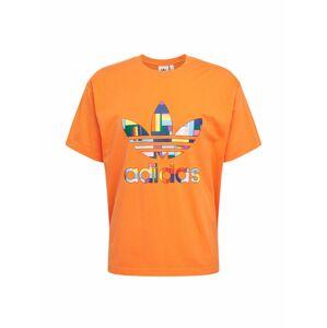 ADIDAS ORIGINALS Tričko  mix barev / oranžová