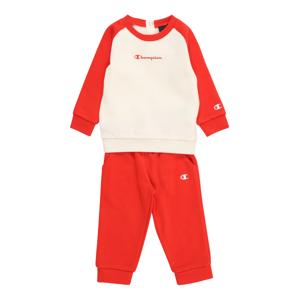 Champion Authentic Athletic Apparel Joggingová souprava  červená / bílá