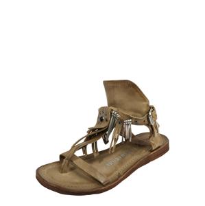 A.S.98 Páskové sandály 'RAMOS'  světle hnědá