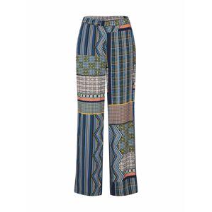 VILA Kalhoty 'AGATA'  námořnická modř / mix barev