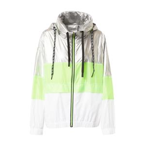 FILA Sportovní bunda 'AUGUSTA'  bílá / stříbrná / zelená
