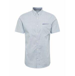 TOM TAILOR Košile  modrá / bílá