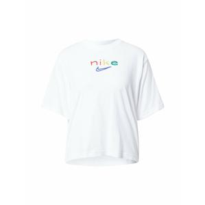 NIKE Funkční tričko  bílá / červená / zelená / žlutá / modrá