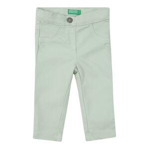 UNITED COLORS OF BENETTON Kalhoty  pastelově zelená
