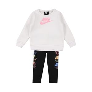 Nike Sportswear Joggingová souprava 'FUTURA STACK'  bílá / mix barev / černá