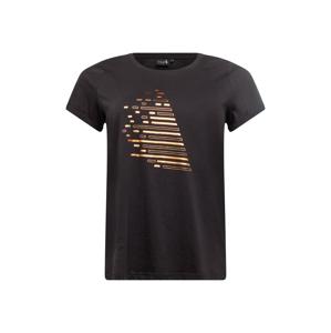 Active by Zizzi Funkční tričko  černá / zlatá