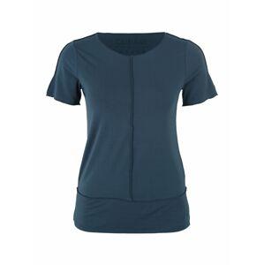 CURARE Yogawear Funkční tričko  petrolejová